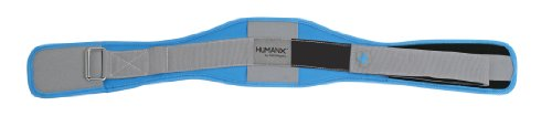 HumanX Women's 5.0-Inch Core Flex Belt, Blue, Small