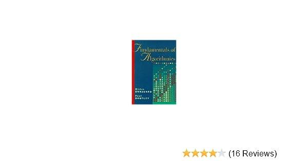 Fundamentals of algorithmics gilles brassard paul bratley fundamentals of algorithmics gilles brassard paul bratley 9780133350685 amazon books fandeluxe Image collections