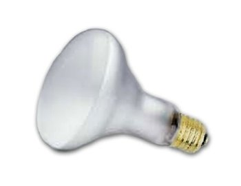 Incandescent Flood Light Bulb, BR30, 65 Watt, 120 Volts, 20000 Hour