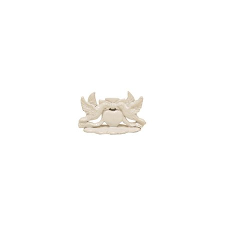 GiftsOGifts Love Birds White Place Card Holder Set of 12