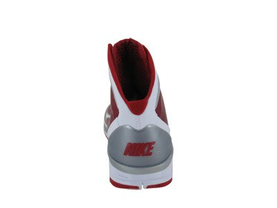 Nike, Sneakers Uomo Blanc-rouge / Argent 42.5