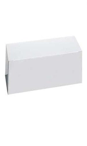 Count of 100 Gift Boxes - White - 85103 with 10''L x 5''W x 4''D