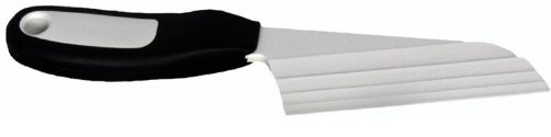 The Cheese Knife BKP2 with Patented Cheese Knives Blade, Black