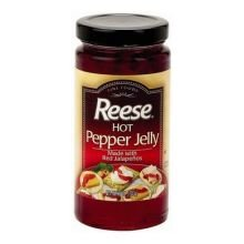 Reese Hot Jalapeno Jelly, 10 Ounce - 3 per