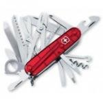 Victorinox Swiss Army SwissChamp Pocket Knife (Ruby), Outdoor Stuffs