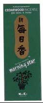 Cedarwood 200 Stick - Morning Star Incense