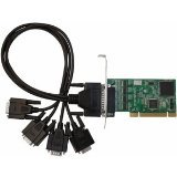 SIIG DP 4-Port Industrial RS-232 Universal PCI Adapter Card (ID-P40111-S1)