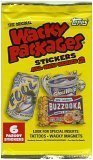 2005 Topps Wacky Packages Stickers Unopened Pack of 6 Parody Stickers !! ()