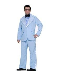 50s Prom King (sky blue) Adult Halloween Costume Size X-Large (XL)