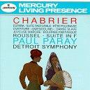 Classical Music : Chabrier: España; Suite Pastorale; Fète Polonaise; Gwendoline Overture; Danse Slave / Roussel: Suite in F