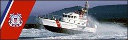 Coast Guard Boat Logo Rear Window Graphic