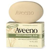 Aveeno Moisturizing Bar for Dry Skin 3 Oz (Pack of 8)