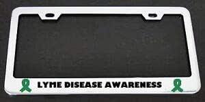 LYME DISEASE AWARENESS License Plate Frame