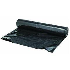 TheSafetyHouse 6Mil - 20' x 100' Black Polysheeting Roll by Berry Plastics