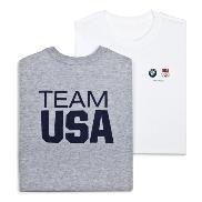BMW Genuine Logo Ladies' Team USA Tee T-shirt / White S