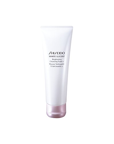 - Shiseido White Lucent Brightening Cleansing Foam for Unisex, 4.7 Oz