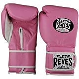 Cleto Reyes Hook & Loop Training Gloves (Pink, 12 oz.)