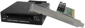 DIGIGEAR PCI Panasonic P2 Card Reader ; Supports all PC PCMCIA Cardbus card in 8/16/32 bit / PCD-TP220SC 110CS by Digigear (Image #2)