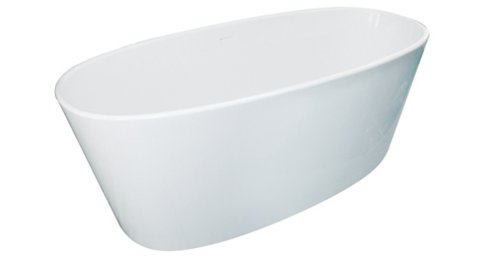(Hydro Systems NEW6632MTA-WHI Metro Collection 66 x 32 Newbury Airbath Only - White)