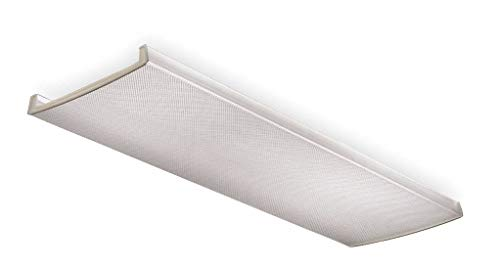 Lithonia Lighting D2LB48 Acrylic Diffuser for LB Wraparound Series, 4-Feet - Lithonia Fluorescent Lights