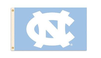 BSI NCAA North Carolina Tar Heels Flag with Grommets, 3 x 5-Feet