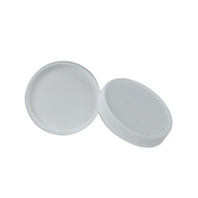 33/400 White Polypropylene Cap with Liner (500 Caps)(Mouth: 38/400) - U-66508 - Manufacturer Part #: CAP-00359