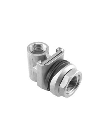 Heavy Duty Pitless Adapter for Water Wells - Stainless Steel Class 304 - (1 inch