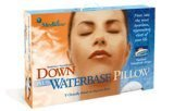 MEDIFLOW Water Based Pillow - Set- One DOWN Water Pillow and One Luxury Pillow Cover