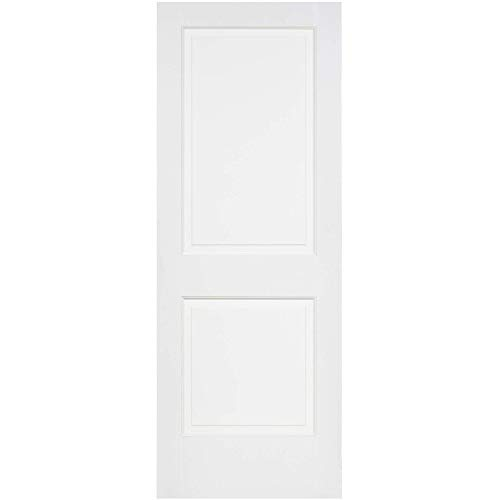 Kimberly Bay 2-Raised Panel White Solid Core Pine Interior Door