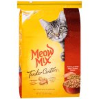 Meow Tender Centers Dry Cat Food Salmon & White Meat Chicken Flavors 13.50LB (Pack of 12)