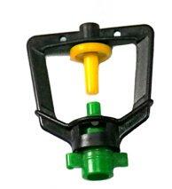 ZAMBUS Watering & Irrigation Garden Sprinklers - Reflective High Pressure Sprinkler Heads Mist Sprayer Nozzles Micro Plastic Fog Kits Irrigation Garden Suppliers - (Color: Spray ()