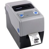 Sato Compact CG208 Thermal Transfer Printer - Monochrome - Desktop - Label Print