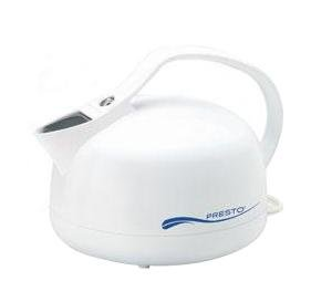 Presto Electric Tea Kettle Built-in Whistle Great for Tea Instant Coffee Hot Chocolate