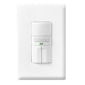 Cooper Wiring Devices OS310R-W Occupancy Sensor Dual 3-Way Switch ...