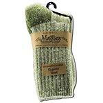 Maggie's Functional Organics Killington Mountain Hiker Socks Olive 9-11 Size 9-11