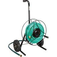 Ironton Garden Hose Reel Cart - Holds 100Ft.L x 5/8in. Dia. Hose