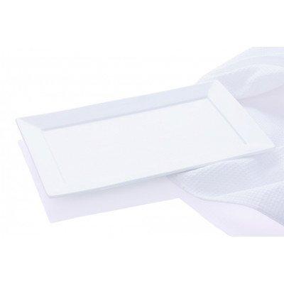 7-Inch White Maxwell and Williams Basics Cosmopolitan Rectangular Platter