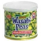 Hapi Wasabi Peas Hot 4.9 OZ (Pack of 6) by Hapi