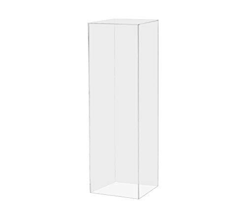 (Marketing Holders Display Cube Pedestal Art Sculpture Stand Acrylic Flower Pillar12