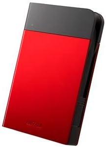 バッファロー ICカード対応MILスペック 耐衝撃ボディー防雨防塵ポータブルHDD 2TB レッド HD-PZN2.0U3-Rds-1709970ata