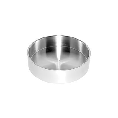 SteelForme Brushed 10'' Stainless Steel Double Wall Round Bowl