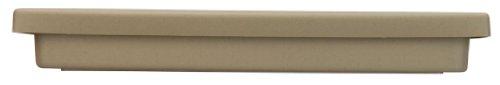 Akro Mils SRO15500A34 15.5 Inch Accent Planter Tray, Sandstone, 14-Inch