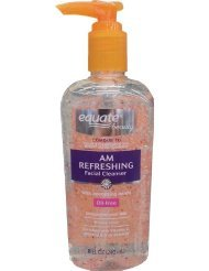 Equate AM Refreshing Facial Cleanser 8oz, Compare to Clean & Clear Morning Burst Facial Cleanser