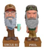 2 Pack Funko POP! Duck Dynasty - Si and Phil Robertson Vinyl Talking Wobbler
