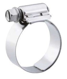 33mm - 57mm 1-5//16-2-1//4 10 Pack Breeze 9428 Aero-Seal Liner Clamps with Stainless Screw Effective Diameter Range