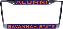 WinCraft Savannah State University L310757 Inlaid Metal LIC Plate Frame
