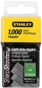 Stanley Tra204T 1/4 Inch Light Duty Narrow Crown Staples, Pack of 1000 (7 pack) by Stanley