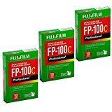 FujiFilm FP-100C Professional Instant Color Film 3-Pack (30 Prints) (669 Polaroid Film)