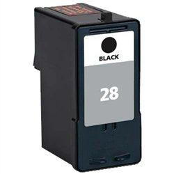 Ink Now Compatible Cartridge Replacement for Lexmark 18C1428, 18C1528, 28, Works with : X2500, X2530, X2550, X5070, X5075, X5320, X5340,X5410,X5495, Z1300,Z1310,Z1320,Z845 (Black)