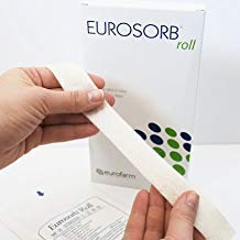 Ulcer Wound Dressing Rope Eurosorb Roll 100% High Integrity Calcium Alginate: 1 x 12 Inches Sterile Soft and Highly Absorbent Dressing Rope, Size: 2.5 x 30 Centimeters. Made in - Wound Dressing Inch 12 Rope Care